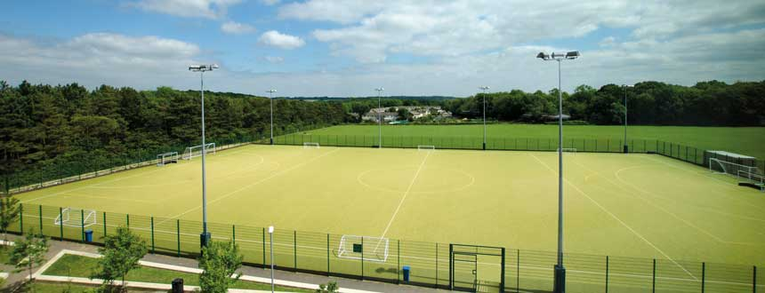 Astro turf pitch