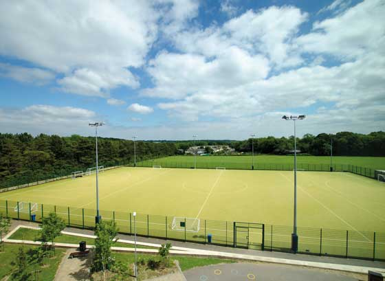 Astro turf pitches