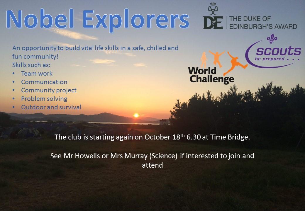 Nobel Explorers